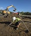 Utgraving på Sandbrauta i Lundamo i Melhus (37161160333).jpg