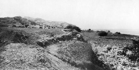 Utsikt mot Vouni från utgrävningen. Mersinaki. SMVK - C02770.tiff