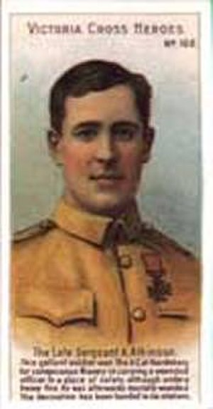 Alfred Atkinson - Atkinson as depicted on a cigarette card