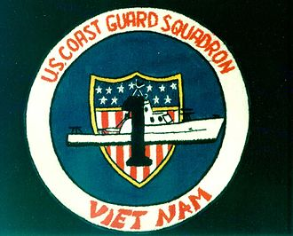 United States Coast Guard Squadron One unit patch during the Vietnam War VTN USCGSQ1 Patch.jpg