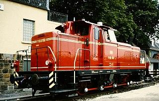 DB Class V 60 class of German diesel-hydraulic locomotives