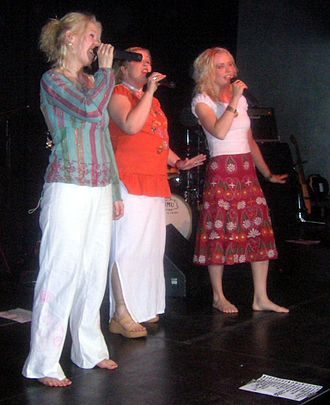 Värttinä - The band's vocalists in 2006.