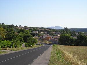 Vailhauquès - A general view of Vailhauquès