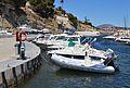 Vaixells al port esportiu de les Bassetes.JPG