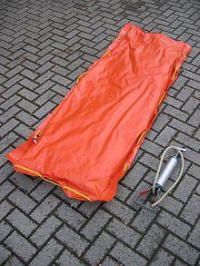Vacuum mattress