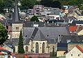 Valkenburg, Kasteelruïne, uitzicht centrum02.jpg