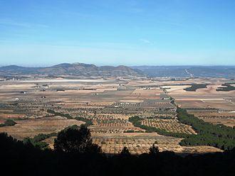 Alhorines Valley - Valle de los Alhorines; to the right of la Vereda de la Zafra