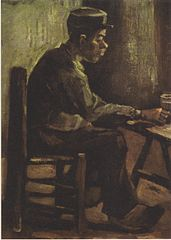 Man at Table