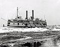 Vapeur a roues Algerian dans les rapides de Lachine vers 1900.jpg