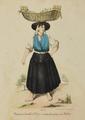 Varina (mulher d'Ovar) vendendo peixe em Lisboa - Lithografia Palhares.png