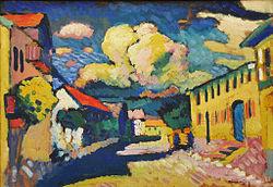 Wassily Kandinski: Murnau, Dorfstrasse (A Village Street)