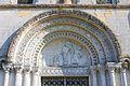 Vaux-sur-Aure église Saint-Aubin portail.JPG