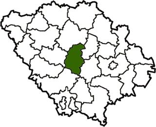 Velyka Bahachka Raion Former subdivision of Poltava Oblast, Ukraine