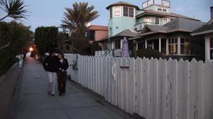 New pedestrianism - A walk street in Venice, California, built around 1905.