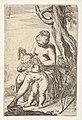 Venus tying a blindfold over Cupid's eyes, from the series 'Sport of Love' (Scherzi d'amore) MET DP833518.jpg