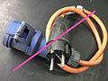 Verbotene Adapterleitung Schukostecker - CEE 2012 01 12.jpg
