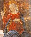 Vergine annunciata di alesso baldovinetti, cappella del cardinale di portogallo, 1466 circa.jpg