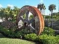 Vero Beach FL old diesel plant flywheel01.jpg