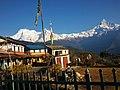 View of Annapurna range from Australian Base Camp 01.jpg
