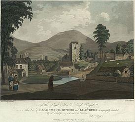 View of Llanfwrog, Ruthin and Llanbedr