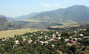 Sanahin - Image: View of Sanahin, Debed Valley