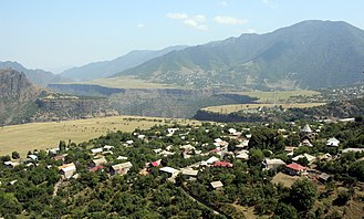 Sanahin - Image: View of Sanahin, Debed Valley