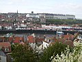 View of Whitby town and harbour - geograph.org.uk - 266343.jpg