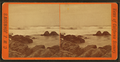 View of a rocky beach, by Johnson, C .W. J. (Charles Wallace Jacob), 1833-1903.png
