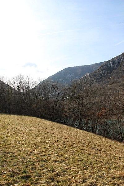 View on the Crêt d'Eau