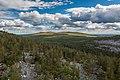 View over Kivitunturi towards Vasatunturi in Savukoski, Lapland, Finland, 2021 June - 2.jpg