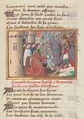 Vigiles de Charles VII, fol. 177, Reddition de Rouen (1449).jpg