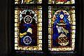 Viktring Stiftskirche Glasmalereien rechtes Fenster Apostel unterste Bildreihe 07052011 332.jpg