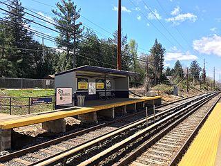 Villanova station (Norristown High Speed Line)