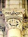 Villeneuve-sur-Verberie (60), église Saint-Barthélémy, chœur, doubleau intermédiaire, chapiteau côté sud.jpg
