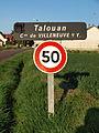 Villeneuve-sur-Yonne-FR-89-Talouan-panneau-01.jpg