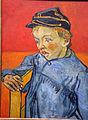 Vincent van gogh, lo scolaro (il figlio del postino - gamin au képi), 1888, 02.JPG