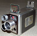 Vintage Kodak Brownie 8mm Movie Camera, Turret f-1.9 (12161761246).jpg