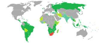 South African nationality law - Visa required