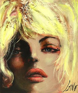 Corno (artist) - Image: Visage Blonde