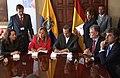 Visita a Ecuador de la Ministra de Asuntos Exteriores y de Cooperación del Reino de España, Trinidad Jiménez (5165133254).jpg