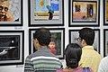 Visitors At Inaugural Day - 45th PAD Group Exhibition - Kolkata 2019-06-01 1277.JPG