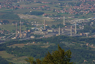 Loznica - Viskoza factory