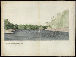 Vista do Rio Vaupés, o qual desagoa no Rio Negro