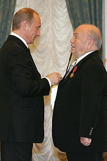 Vladimir Putin and Vladimir Shainsky, December 2005.jpg