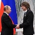 Vladimir Putin at award ceremonies (2015-12-10) 10 (cropped).jpg