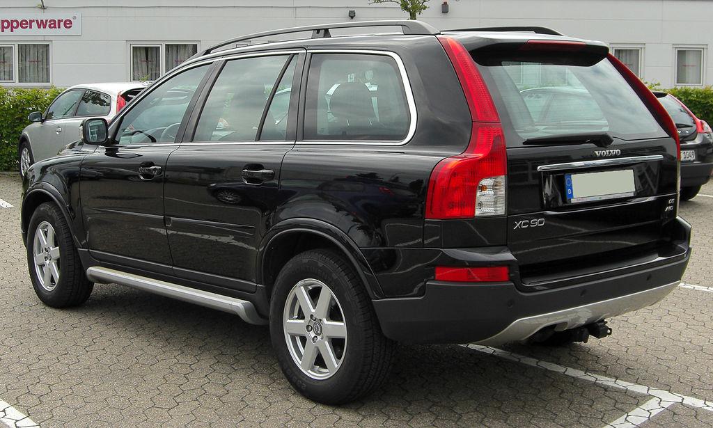 File Volvo Xc90 D5 Awd Facelift Rear 20100731 Jpg