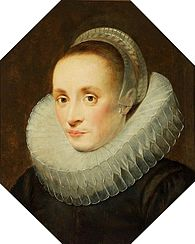 Portrait of a lady (Margaretha de Vos, wife of Frans Snyders?).
