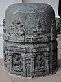 Votive Stupa - Pala School - Circa 11th Century CE - Bodhgaya - Bihar - Indian Museum - Kolkata 2013-04-10 7816.JPG