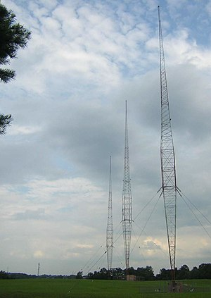 WBT (radio station) - Image: WBT Towers