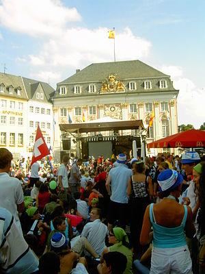 World Youth Day 2005 - Pilgrims in Bonn